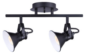 Track Light Industrial MOROCCO Canarm IT582A02BK10