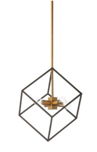 Pendant Lighting Industrial Dainolite KAP-144P-VB-MB