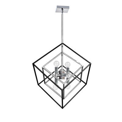Pendant Lighting Industrial Dainolite KAP-196P-PC-MB