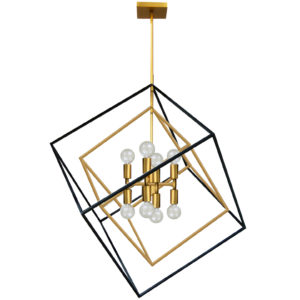 Pendant Lighting Industrial Dainolite KAP-278P-VB-MB