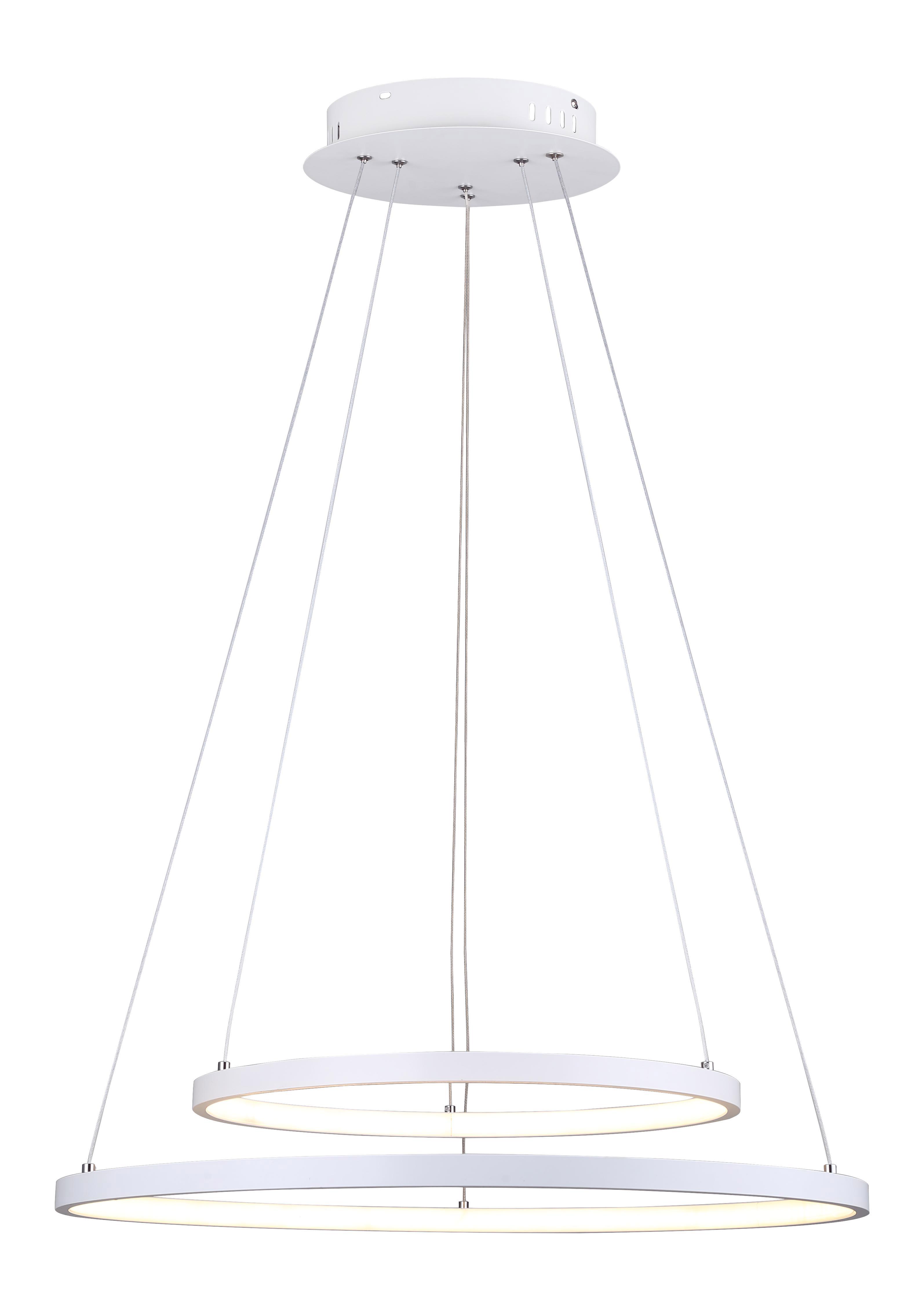 Pendant Lighting Modern LEXIE Canarm LCH128A24WH