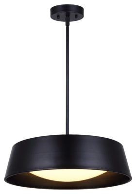 Pendant Lighting Modern Contemporary Industrial DION Canarm LCH131A17BK