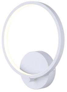 Wall Sconce Lighting Modern LEXIE Canarm LWF128A01WH