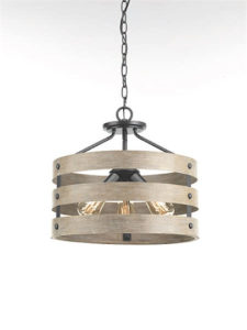 Pendant Lighting rustic GULLIVER Progress p350049-143