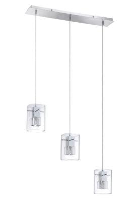 Pendant Lighting Modern METRO Kendal pf44-3lbr-ch
