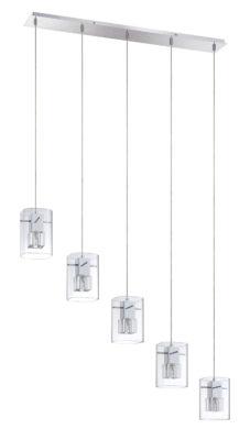 Pendant Lighting Modern METRO Kendal pf44-5lbr-ch