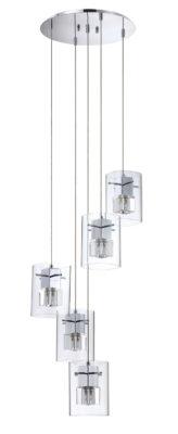 Pendant Lighting Modern METRO Kendal pf44-5lpa-ch