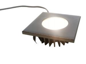 Recessed LED Contemporary Totec pkd501-bk-sn-wh