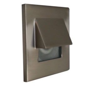 Recessed wall light LED  Contemporary Totec pkd505-bk-sn-wh