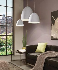Luminaire suspendu moderne SARABIA Eglo 94352A dans le salon