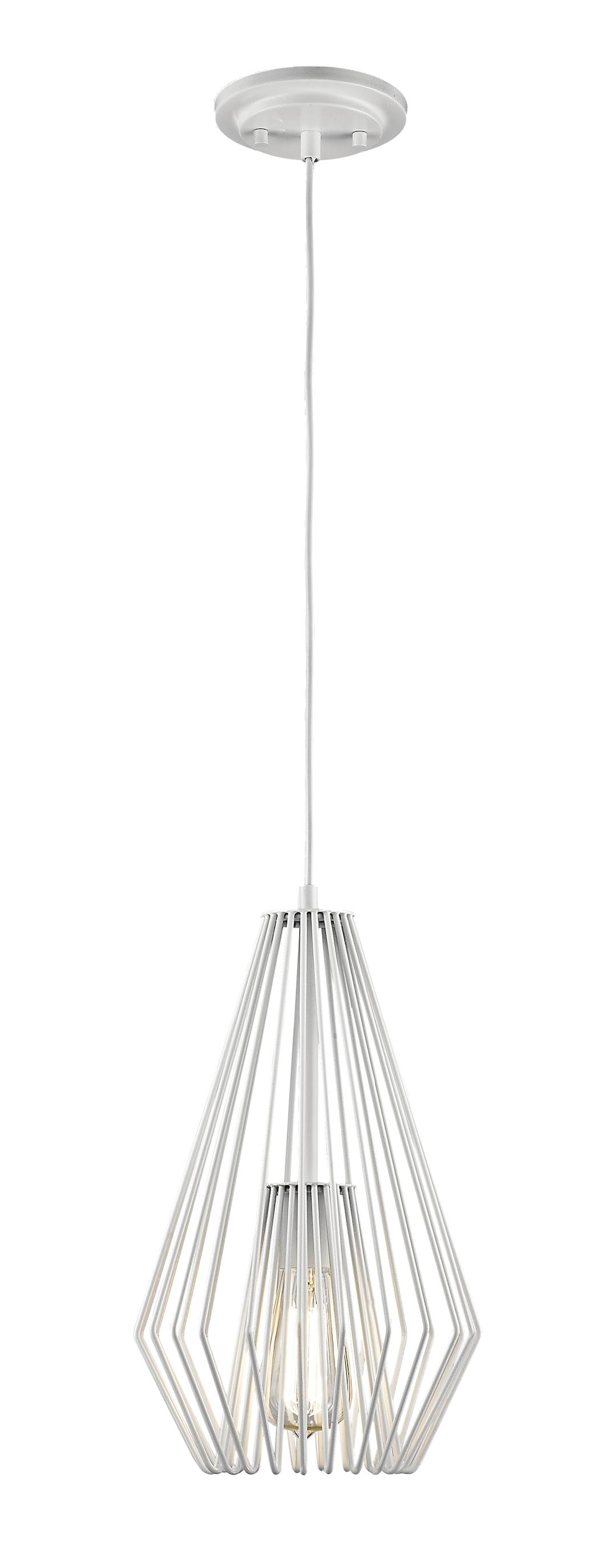 Pendant Lighting Transitional Modern QUINTUS Z-Lite 442MP-WH