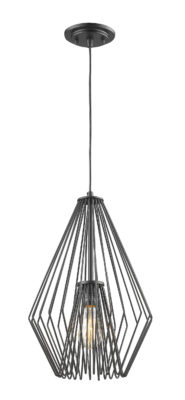 Pendant Lighting Transitional Modern QUINTUS Z-Lite 442MP12-MB