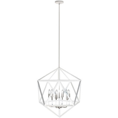Pendant Lighting Transitional ARCHELLO Dainolite ARC-226C-WH-SC