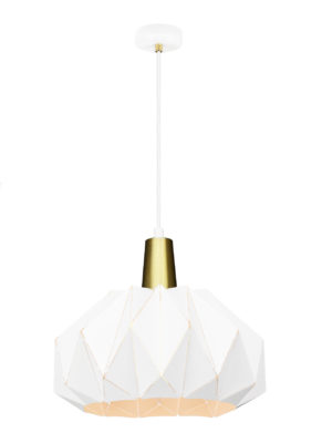 Pendant Lighting Modern THE ORIGAMI Matteo C70901WH