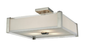 Flush Mount Lighting Modern Dvi DVP10312SN-SSOP