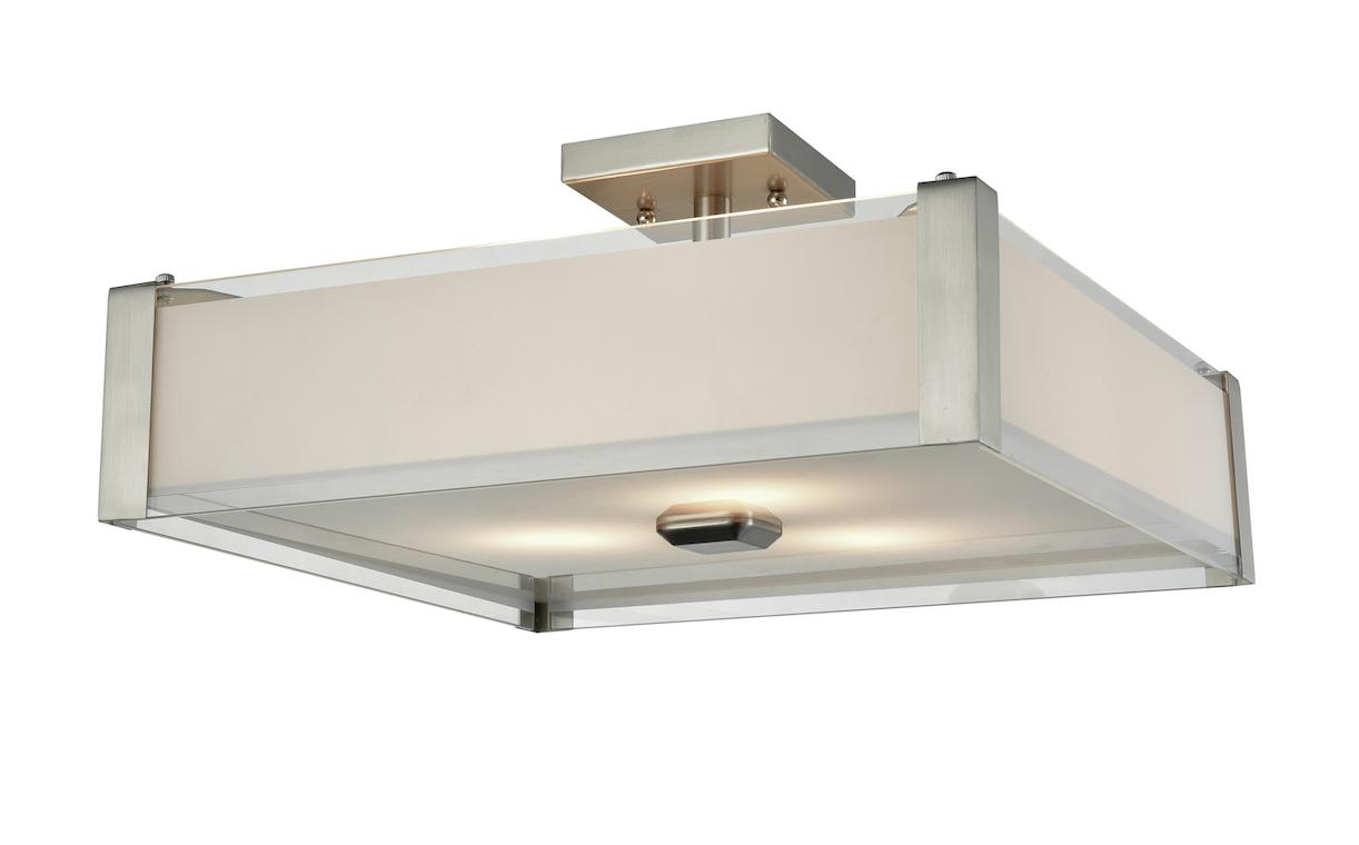 Flush Mount Lighting Modern Dvi DVP10312SN-SSOP