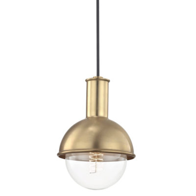 Pendant Lighting Modern RILEY Hudson Valley H111701-AGB