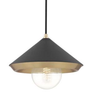 Pendant Lighting Modern MARNIE Hudson Valley H139701L-AGB/BK