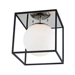 Flush Mount Modern AIRA Hudson Valley H141501S-PN/BK