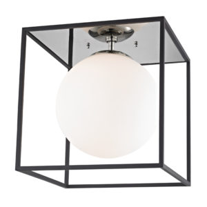 Flush Mount Modern AIRA Hudson Valley H141501L-PN/BK