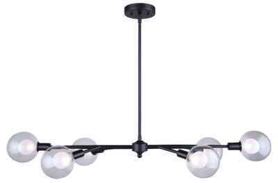 Pendant Lighting Modern HEALEY Canarm IPL346B06BK9