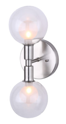 Wall Sconce Lighting Modern  HEALEY Canarm IWF346B02BN9