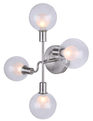 Wall Sconce Lighting Modern  HEALEY Canarm IWF346B04BN9