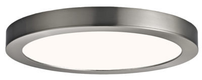 Round Flush Mount Lighting Modern Canarm LED-SM11DL-BN-C