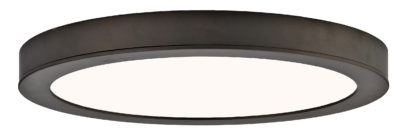 Round Flush Mount Lighting Modern Canarm LED-SM11DL-ORB-C