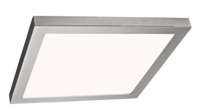 Square Flush Mount Lighting Modern Canarm LEDS-SM15DL-BN-C