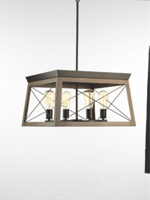 Pendant Lighting rustic traditional BRIARWOOD Progress P400047-020