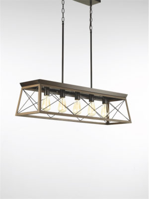 Pendant Lighting rustic traditional BRIARWOOD Progress P400048-020