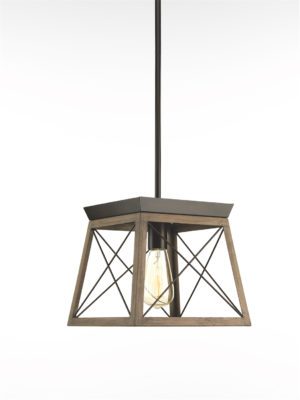 Pendant Lighting rustic traditional BRIARWOOD Progress P500041-020