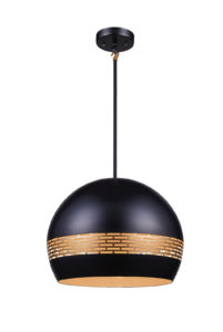 Pendant Lighting Modern Ulextra P562-16-BK