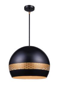 Pendant Lighting Modern Ulextra P562-20-BK