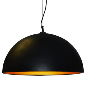 Pendant Lighting Modern Dainolite 114-313P-BK-GLD