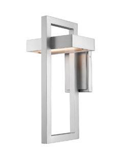 Wall Sconce Lighting outdoor Modern LUTTREL Z-Lite 566B-SL-LED