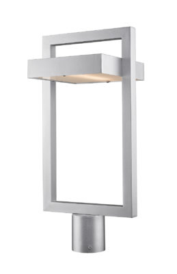 Outdoor lighting Modern LUTTREL Z-Lite 566PHBR-SL-LED