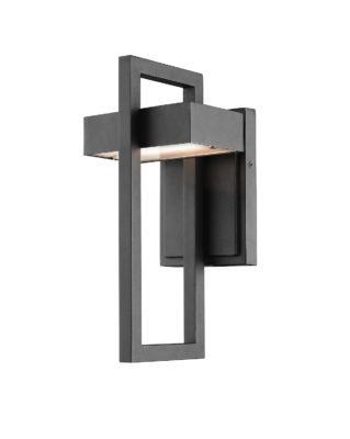 Wall Sconce Lighting outdoor Modern LUTTREL Z-Lite 566S-BK-LED