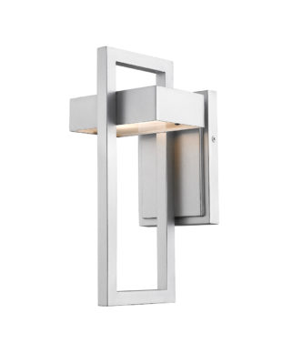 Wall Sconce Lighting outdoor Modern LUTTREL Z-Lite 566S-SL-LED