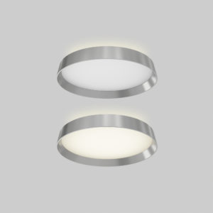 Flush Mount Lighting round Modern DALS CFH12-3K-WH