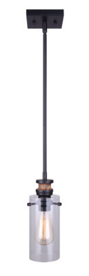 Pendant Lighting Modern ARLIE Canarm IPL710A01BKW
