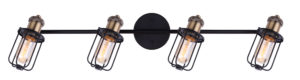 Track lighting industrial VOX Canarm IT704A04BKG
