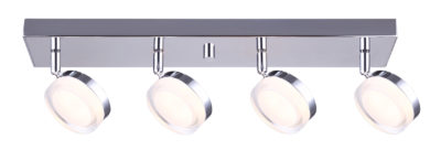 Track lighting Modern chic ELENA Canarm LCW143A04CH