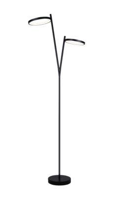 Floor lamp Modern LEXIE Canarm LFL128A62BK