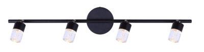 Track lighting Modern FITZ Canarm LT142A04BK