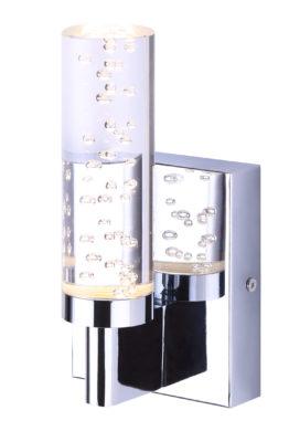 Wall Sconce Lighting Modern FITZ Canarm LVL142A01CH