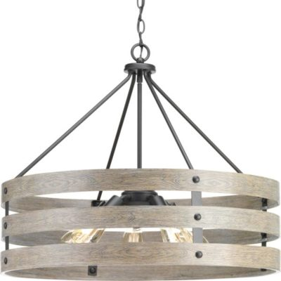 Pendant Lighting rustic GULLIVER Progress P500090-143