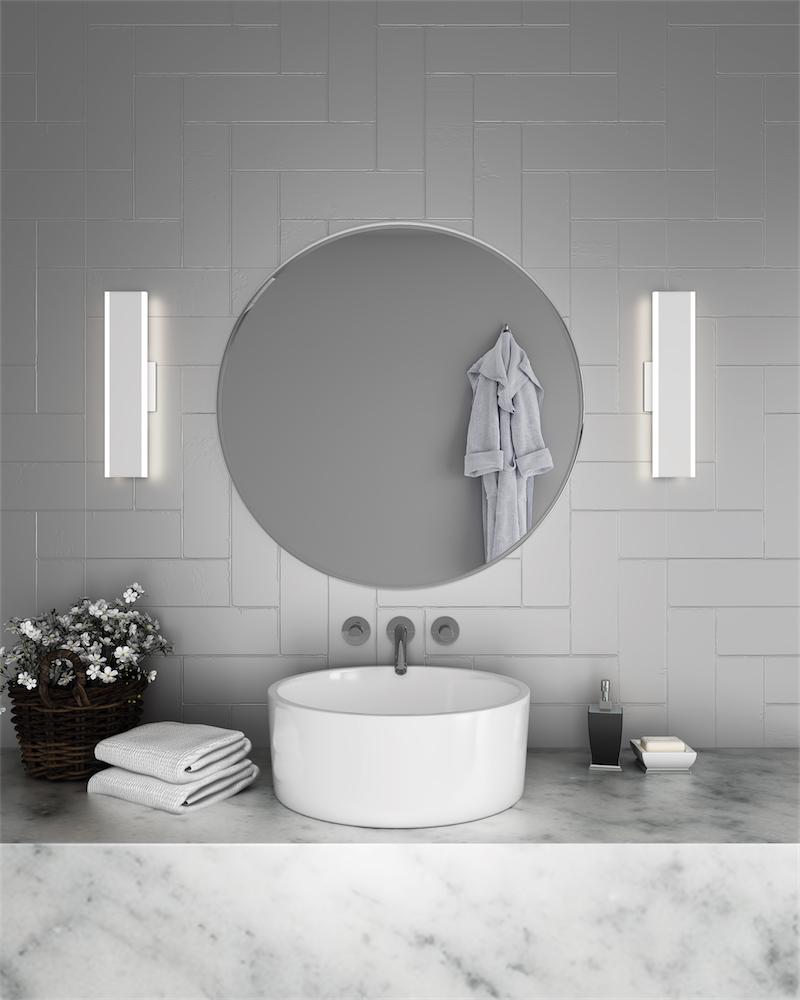 luminaire mural salle de bain sws24 3k. Black Bedroom Furniture Sets. Home Design Ideas