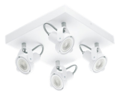 Flush mount Lighting Modern NOVORIO 1 Eglo 94649A